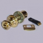 United States Hardware D-600B Mobile Home Brass Privacy Lockset Mobile Home/Locking - Each