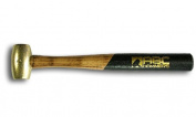 ABC Hammers ABC1BW 0.45kg. brass hammer wood handle