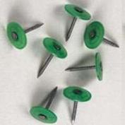 Plasti-Top 0135091 Roofing Nail, 12 ga x 2.5cm - 1.3cm , Electro-Galvanised