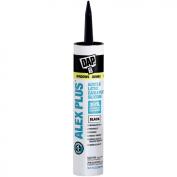 Dap 18126 Black Alex Plus Acrylic Latex Caulk Plus Silicone