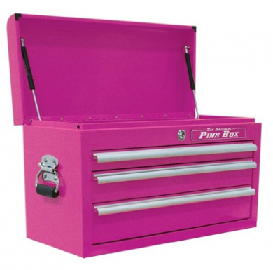 The Original Pink Box 26'' 3 Drawer Chest
