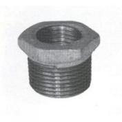 B & K 511-900BC Pipe Reducing Hexagonal Bushing, 10cm x 7.6cm , Threaded, Malleable Iron, Galvanised