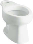 Sterling Plumbing 403215-0 Windham Elongated Toilet Bowl, White30.5cm . rough-in. Elongated bowl for u