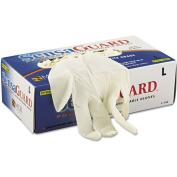 Memphis - SensaGuard Industrial Grade Chlorinated Disposable Gloves, White, Large