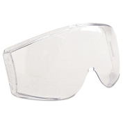 Uvex Stealth Safety Goggle Replacement Lenses, Clear Lens