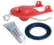 Korky 2003BP EasyFix Toilet Flush Valve and Flapper Repair Kit, 5.1cm