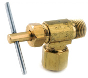 Anderson Metals 759103-0402 .25 in. X .13 in. Low Lead Angle Needle Valve