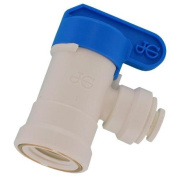 John Guest Usa Inc .25in. X .25in. Elbow Shut Off Valve PPSV500822WP