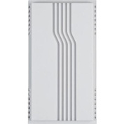 Thomas and Betts Carlon DH120 Wired Doorbell with Lines - White