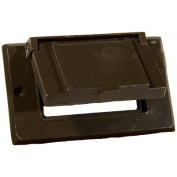 Morris Products One Gang Weatherproof Covers in Bronze for Horizontal GFCI / Decorator