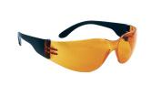 SAS Safety 5342 NSX Eyewear Safety Glasses, Orange Lens / Black Temple