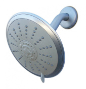 Conservco Water Conservation Multnomah Fixed Showerhead, Chrome