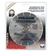Vulcan 937691OR 17.8cm . Diamond Blade Segmented Rim