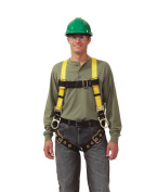 Msa Safety Works 10072491 Twin Buckle Large Strap 3-D-Ring Harness - Standard