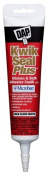 Dap 18526 White Kwik Seal Plus Kitchen and Bath All-Purpose Adhesive Caulk