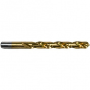 Morris Products 4.38'' Titanium Coated High Speed Steel Drill Bit