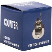 Trademark Tools Tally Counter Clicker, Handheld or Base Mounted