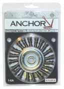 Anchor Brand 102-3STK14 Anchor 3 Inch Std Twist Knotwheel St-3 .014 1-2-3-8