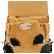 Style N Craft 8 Pocket Nail and Tool Pouch with Reinforced Corners