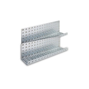 Alligator Board Galvanised Steel Pegboard Shelves