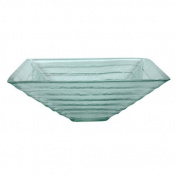 Elements of Design Glass Vessel Sink in Crystal Glacier