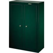 Stack-On 16 to 31 Gun Convertible Double Door Security Cabinet, Hunter Green