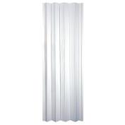 HomeStyles Plaza Vinyl Accordion Door, 90cm x 200cm , Frost White