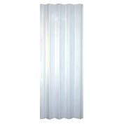 HomeStyles Regent Vinyl Accordion Door, 90cm x 200cm , White Mist