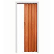 HomeStyles Plaza Vinyl Accordion Door, 121.9cm x 243.8cm , Pecan