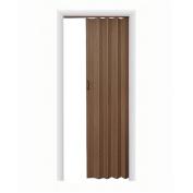 HomeStyles Plaza Vinyl Accordion Door, 90cm x 200cm , Nutmeg