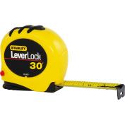 Stanley 30' Leverlock Tape Measure, 30-830W