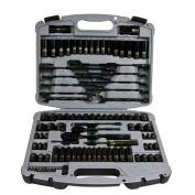 Stanley 92-839 99 pcs. Socket Set, 99 pcs.,Black Chrome, Black Chrome