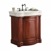 Foremost Wingate 31.86'' Bathroom Vanity with China Top