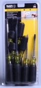 Klein Tools 8-Piece Cushion-Grip Screwdriver Set, Cabinet/Keystone/Phillips
