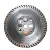 Diamond Products Limited 21124 4X.203.2cm X 2.2cm Turbo Blade Turbo-Delux-Cut - Each