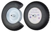 Marathon 00047 40.6cm Knobby Flat-Free Wheelbarrow Tyre
