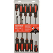 Mayhew MAY66306 CATS PAW 10 Piece Capped End Screwdriver Set