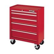 Waterloo Shop Series 66cm . Red 5 Drawer Cabinet - 14D in.