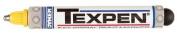 Dykem Dykem TEXPEN Industrial Paint Markers - mx t-6063c 3/32 yellowtexpen 16063c