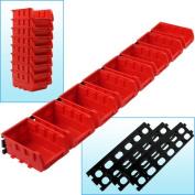 Trademark Tools 8 Bin Wall Mounted Parts Rack