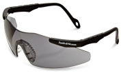 Smith & Wesson Magnum 3G Safety Eyewear, Black Frame, Smoke Lens