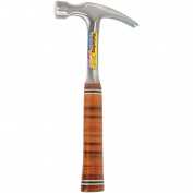 Estwing Mfg Co. 16 Oz Straight Claw Leather Handle Hammer E16S