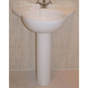 Barclay Alida Pedestal Lavatory with 1 Hole