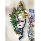 Design Toscano WU74139 Mask of Venice Peacock Wall Sculpture