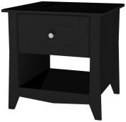 Tuxedo End Table, Black