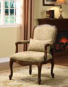 Hokku Designs Basil Cotton Arm Chair