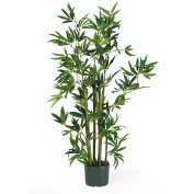 Nearly Natural 5040 Bamboo Silk Plant 4 Feet