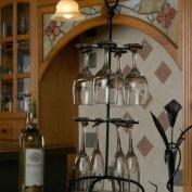 J & J Wire Freestanding Wine Glass Holder