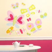 Wallies Jenny's Butterflies Wallpaper Mural