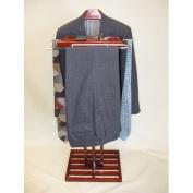 Proman Products Kyoto Wardrobe Valet in Mahogany